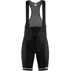 Craft Rise Bibshorts Herrer sort